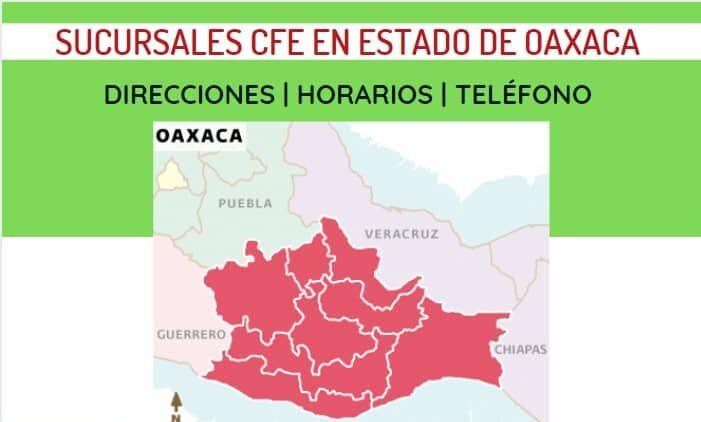 oficinas cfe oaxaca