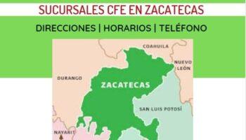 oficinas cfe zacatecas
